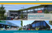 Présentation des résultats semestriels au 30 juin 2015