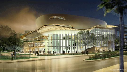 Palais des congres Antibes, Patrimoine & Commerce